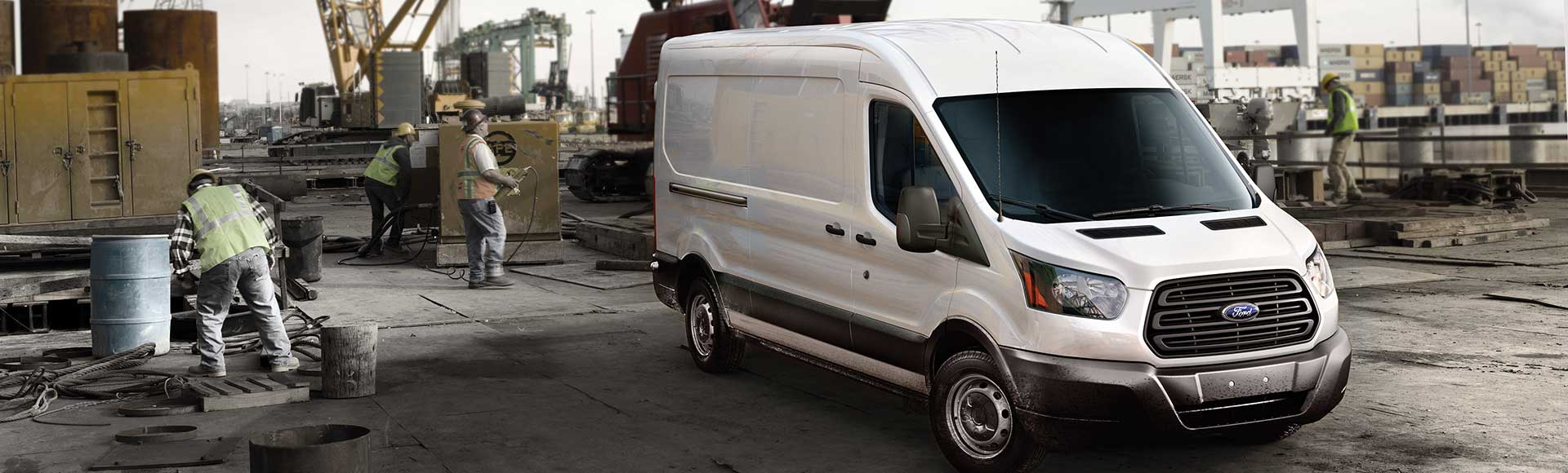 Commercial Ford Van