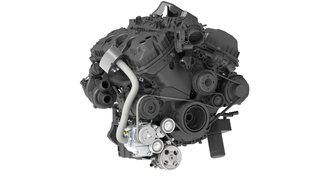 VR40 Transit 3.5L_3.7L Engine Render