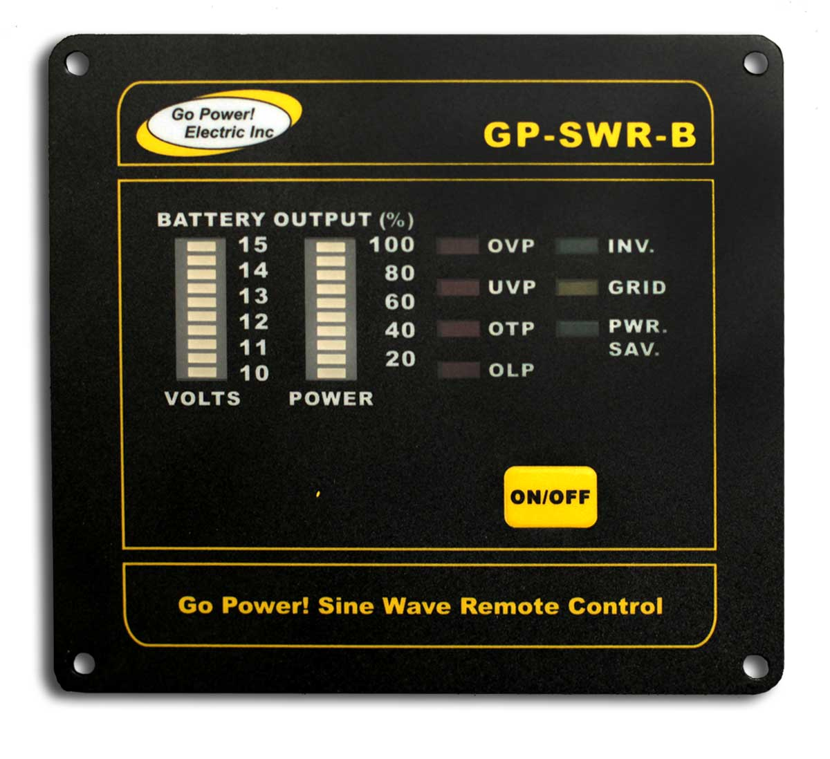 Power Inverter Remote Control Panel