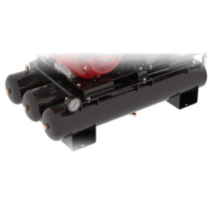 TRIPLE 4-GALLON LOW PROFILE AIR RECEIVER TANKS
