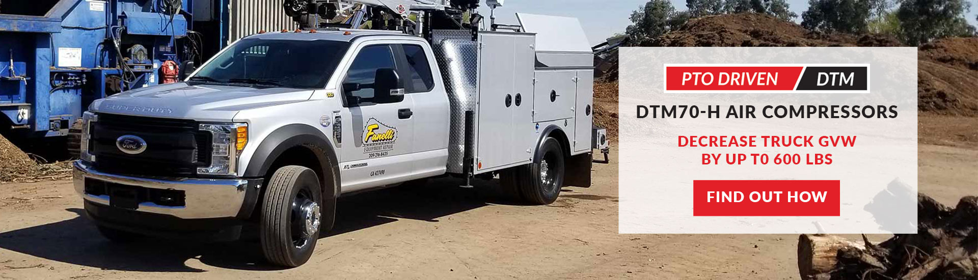 Southern Tire Mart's Quarry & Mining Manager Tests VMAC's DTM70 Air Compressor
