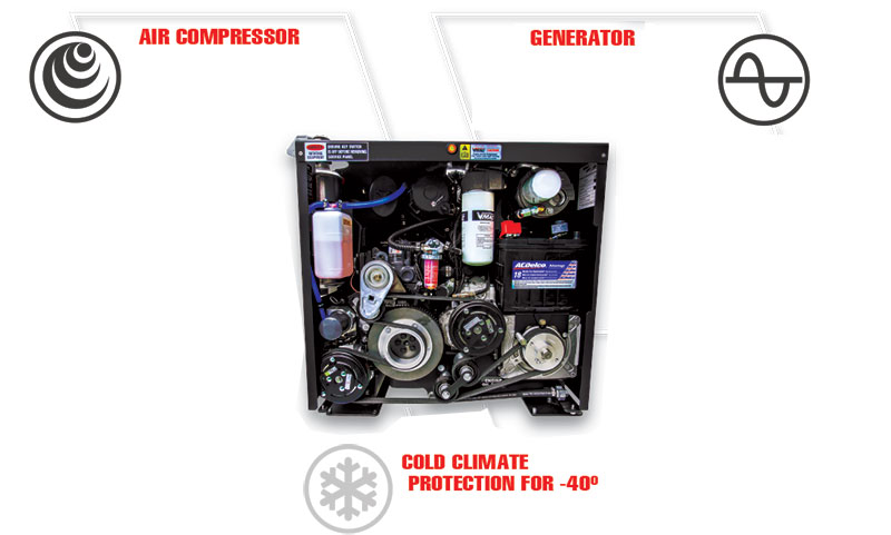 Multifunction-Compressor-Generator-Power-System Components