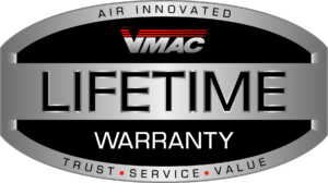 VMAC Lifetime Warranty Logo