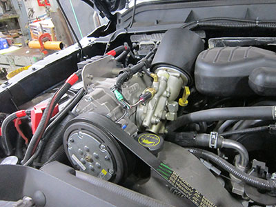 UNDERHOOD compressor