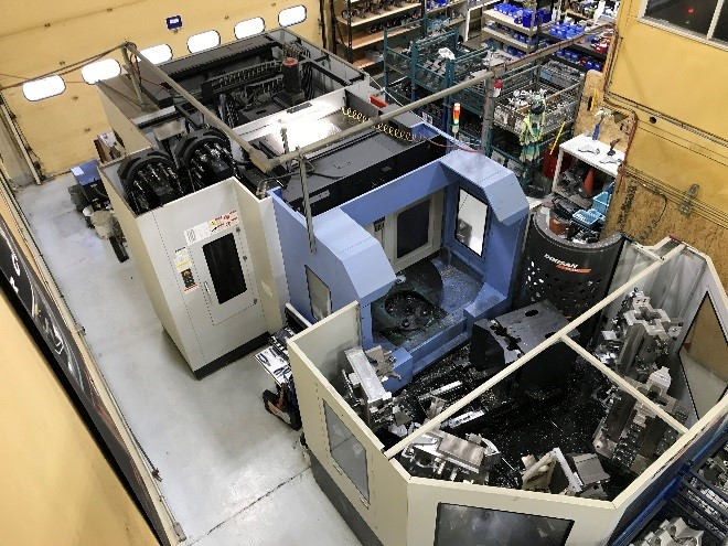 One of VMAC's CNC machines