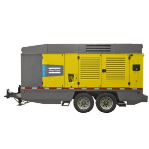 Atlas Copco portable diesel compressor