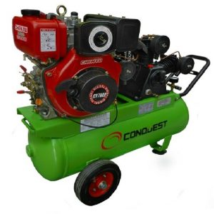 Hobby diesel air compressor