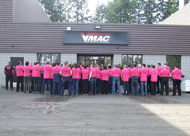 Pink Shirt Day Group Photo